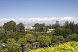 Blick ins Silicon Valley am Firmengebäubde von PARC.