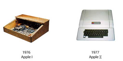 Apple I und Apple II