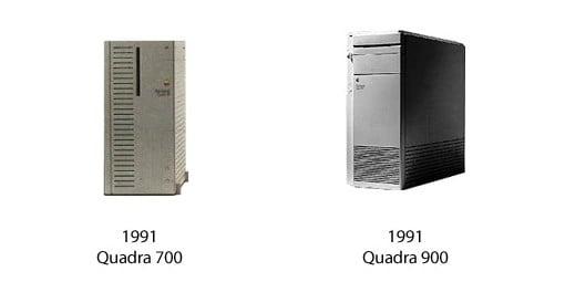Quardra 700 und Quadra 900