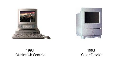 Macintosh Centris und Color Classic