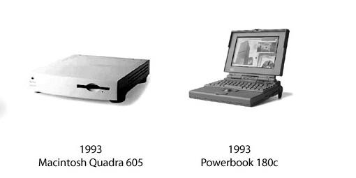 Quadra 605 und PowerBook 180c