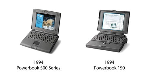 PowerBook 500 und PowerBook 150