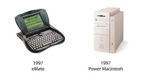 eMate und Power Macintosh