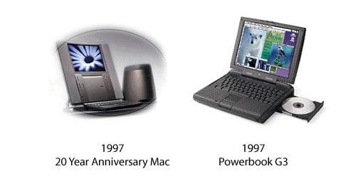 20 Year Anniversary Mac und PowerBook G3