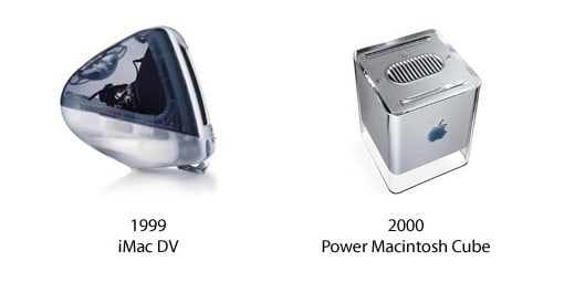 iMac DV und Power Macintosh Cube