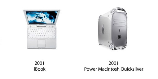 iBook und Power Macintosh Quicksilver