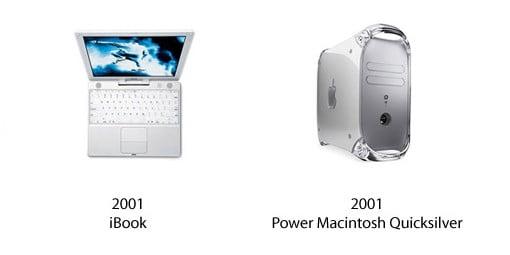 iBook und Power Macintosh Quicksilver