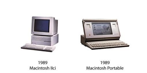 Macintosh IIci und Macintosh Portable