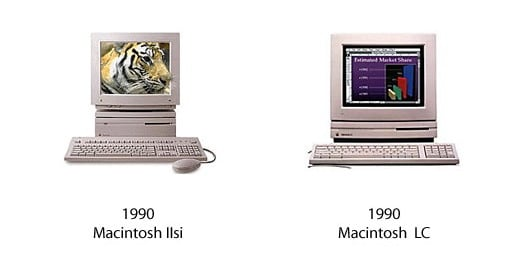 Macintosh IIsi und Macintosh LC