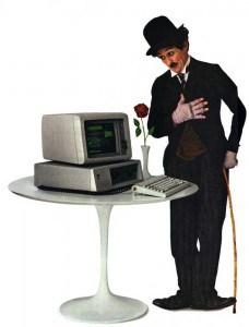 Werbung für den ersten IBM PC