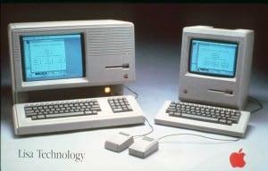 Apple Lisa und Apple Macintosh