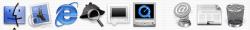 Mac OS X 10.0 Cheetah - Dock