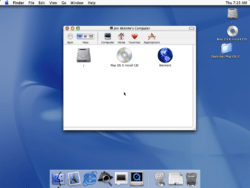 Mac OS X 10.0 Cheetah - First Run