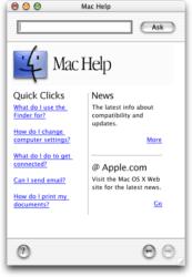 Mac OS X 10.0 Cheetah - Help