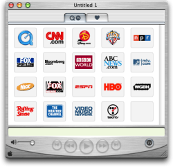 Mac OS X 10.0 Cheetah - Media Player