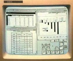 Screen des Xerox Star