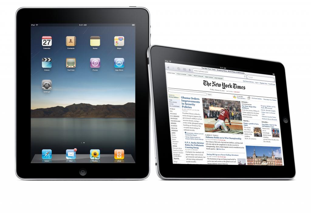 Die erste iPad-Generation