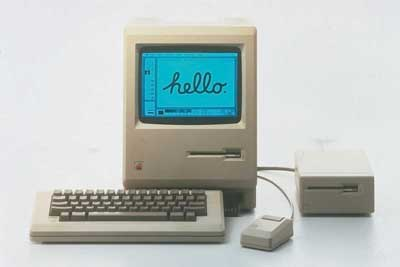 Der erste Apple Macintosh (1984)