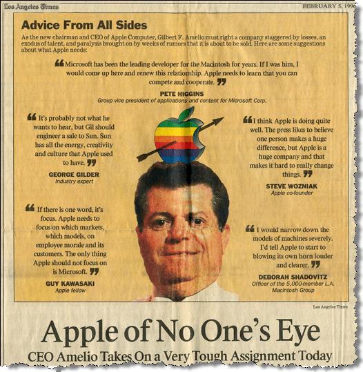 Ausriss LA Times vom 5. Februar 1996