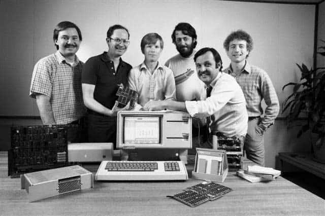 1983: Das Entwickler-Team des Apple Lisa
