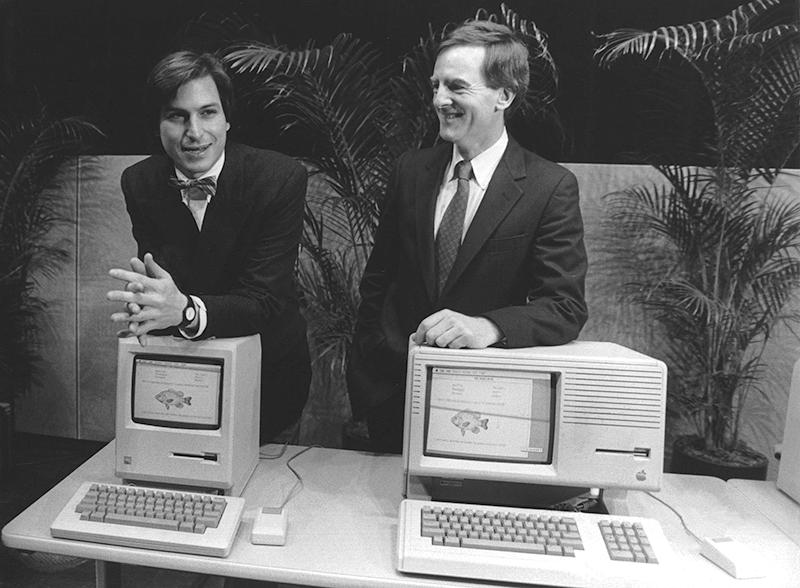 1984: Spannungen zwischen Jobs und Sculley