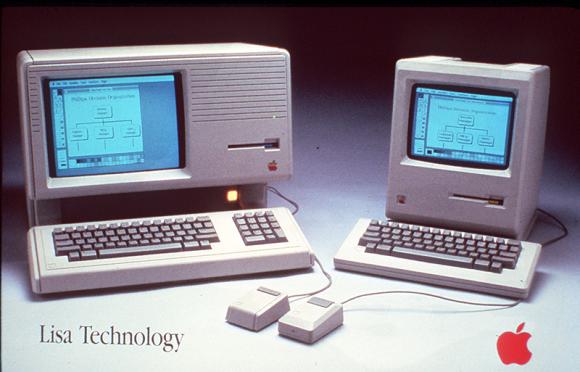 1984: Apple Macintosh und Lisa