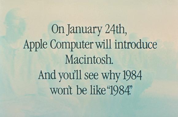 1984: Marktstart Apple Macintosh