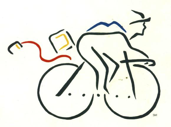 1984: Apple Macintosh Bicyle Logo