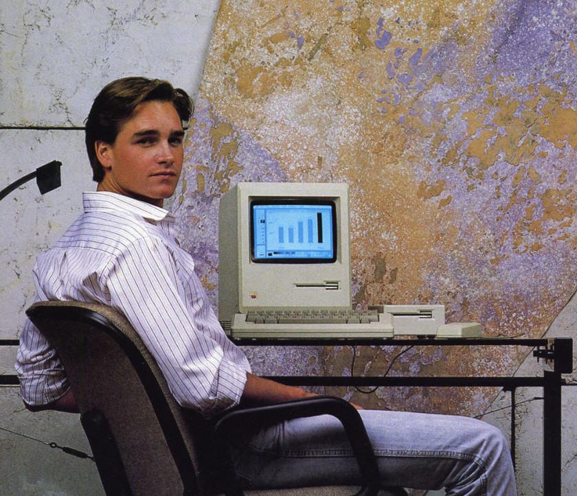 1984: Apple Macintosh nur auf wenigen Schreibtischen