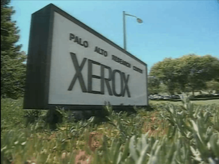 1979: Besuch beim Xerox PARC (Palo Alto Research Center)