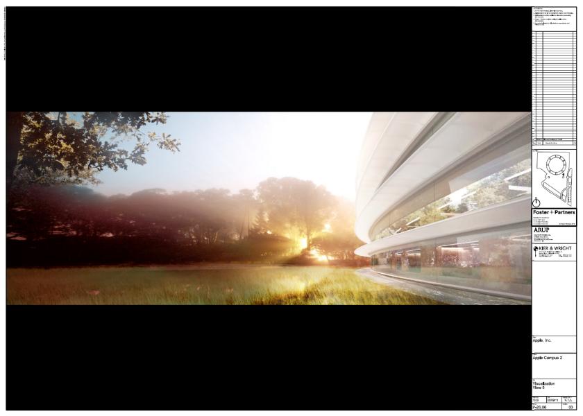 Apple Campus 2 - Das Hauptgebäude - © Apple Inc. - Foster + Partners