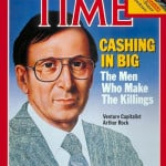 Arthur Rock auf dem Titel von Time Magazine (1984)