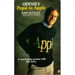 John Sculley auf dem Cover seiner Autobiografie 'Odyssey'