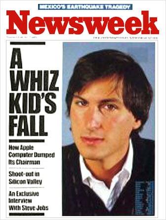 Steve Jobs auf dem Titel der Newsweek (1985)