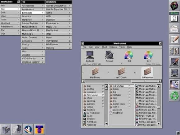 Screenshot NeXTStep