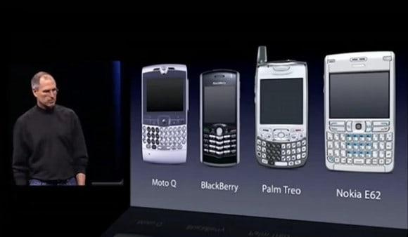 So sahen Smartphones vor dem iPhone aus