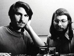 Apple-Gründer Steve Jobs und Steve Wozniak