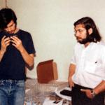 Steve Jobs und Steve Wozniak als Telefon-Hacker