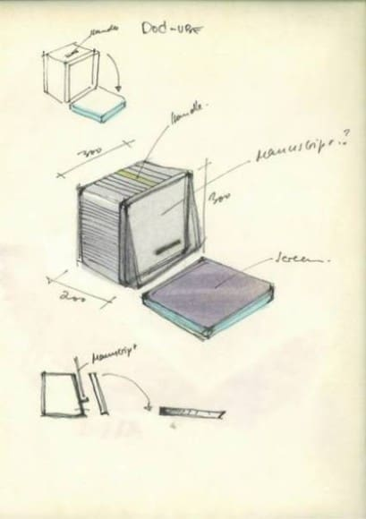 MacCube Skizze (1982-83