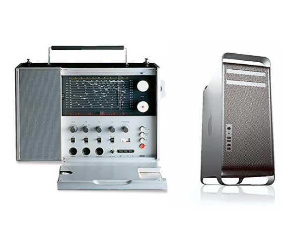 Braun Radio T1000 und der Mac Pro