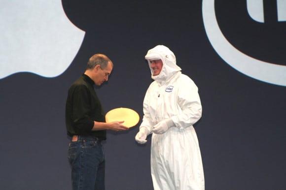 Steve Jobs und Paul Otellini