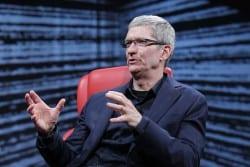 Apple-Chef Tim Cook auf der AllThingsD - D10. Foto: Asa Mathat/All Things Digital