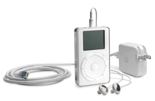 Der erste iPod (2001)