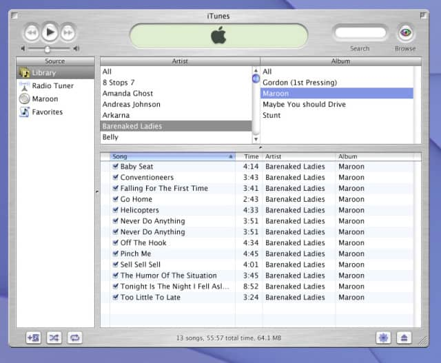 iTunes-Screenshot