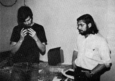 Steve Jobs und Steve Wozniak (1976)