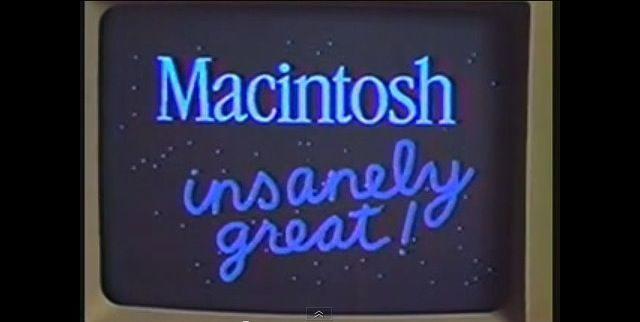 Macintosh - insanely great