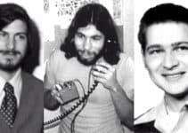 Apple-Gründer Jobs, Woziniak, Wayne