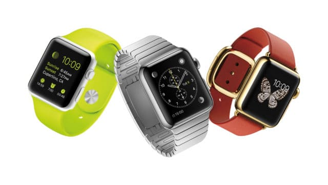 Apple Watch Sport, Apple Watch und Apple Watch Edition